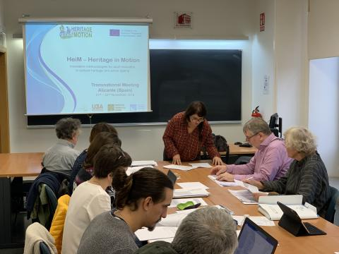 HeiM Meeting in Alicante - Second Day